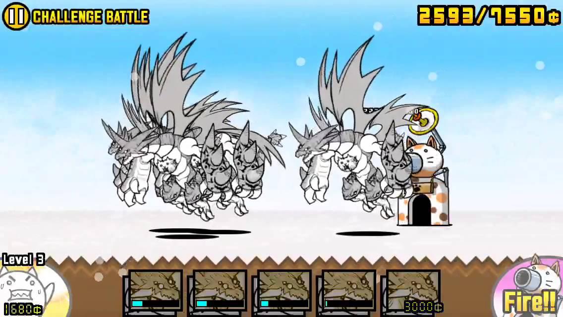 Battle Cats   Glitch