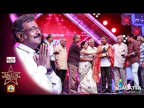 என்னை இழுத்து வந்தார்கள் - Veteran Actor Mouli Emotional Speech | Galatta Nakshatra Awards