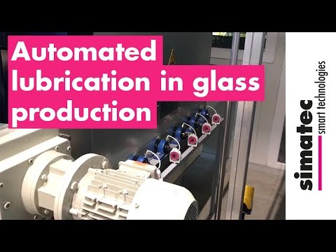 Automated Lubrication In Glass Production