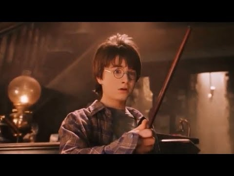 First Wand - Harry Potter The Philosopher's Stone 【Learn English ...