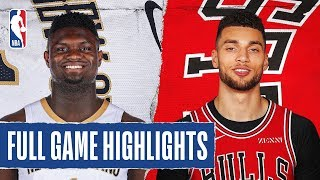 Gambar cover PELICANS at BULLS | FULL GAME HIGHLIGHTS | February 6, 2020