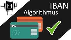 Der IBAN Algorithmus | Algorithmen verstehen