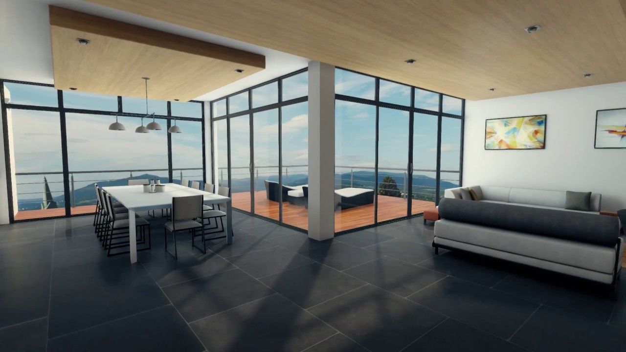 Architectural Visualization Interior - Unity3D Realtime