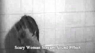 Scary Woman Scream - Sound Effect / Mujer Gritando Efecto De Sonido