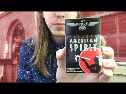 American spirit BLACK reviewing (YOU CAN PACK AMERICAN SPIRITS FOR A BOLDER DRAW)