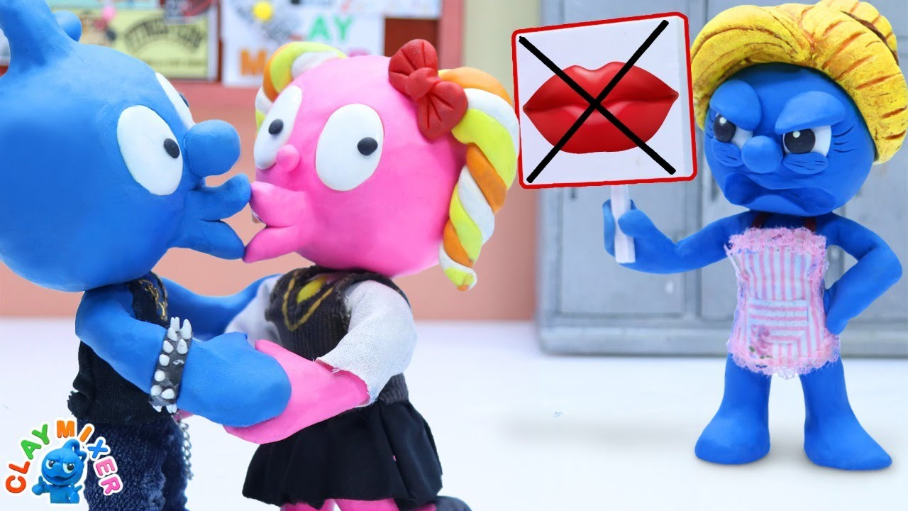 Download No Kissing Zone - Clay Mixer Animation