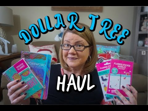 DOLLAR TREE HAUL 1/2/19 | New Planner Supplies, Organic Chips & more!