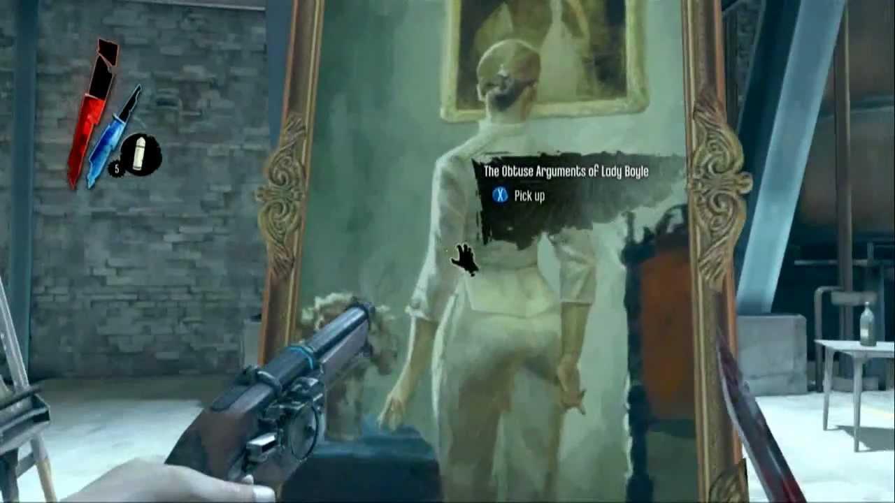 dishonored achievement art dealer