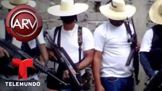 Aparece un nuevo grupo armado en Michoacán, México | Al Rojo Vivo | Telemundo
