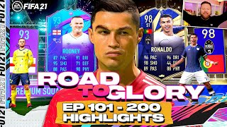 MY BEST PACK EVER!! ROAD TO GLORY 101-200 HIGHLIGHTS! FIFA 21 ULTIMATE TEAM