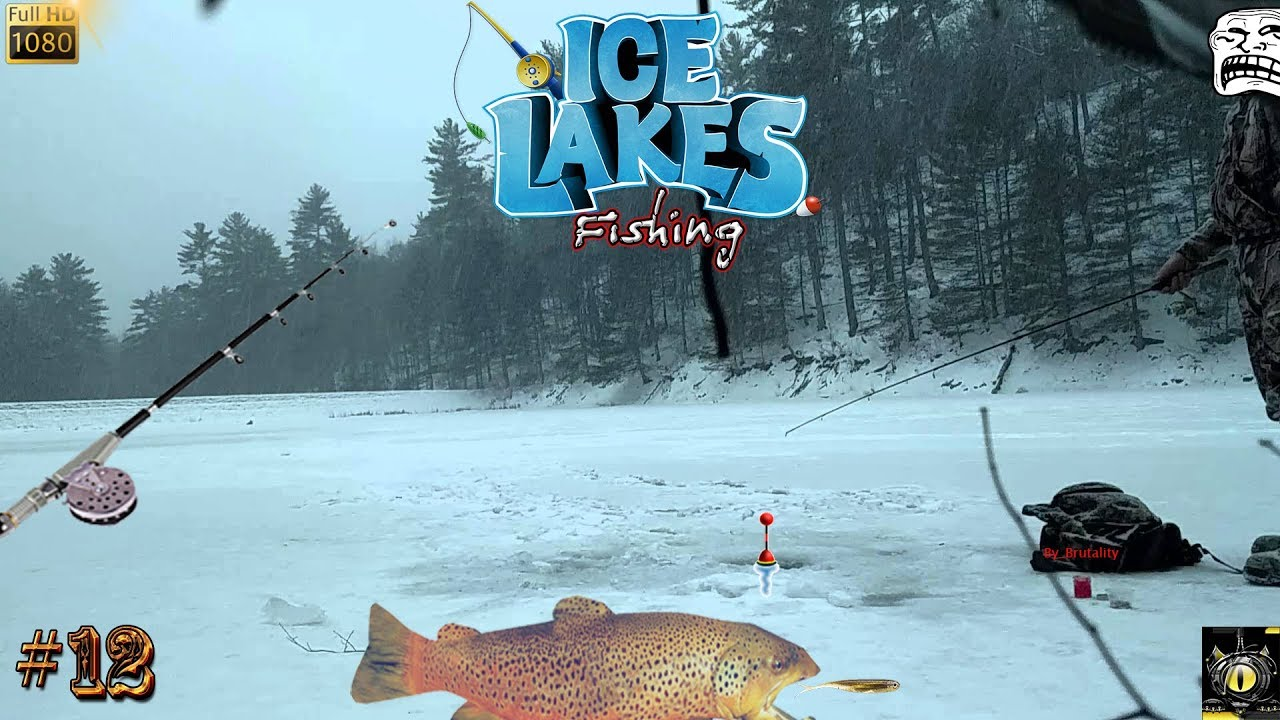 Ice lakes pc gameplay 12 en competition ice fishing for Ice fishing games free