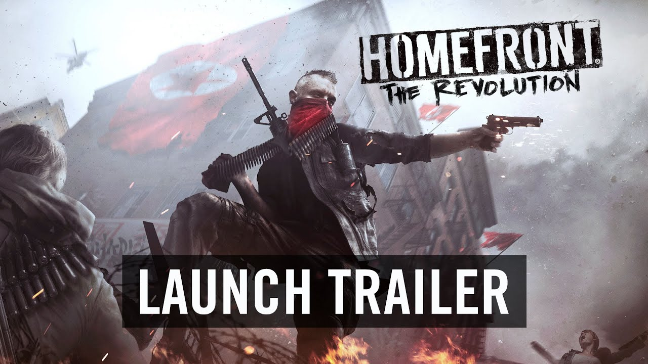 Homefront The Revolution Launch Trailer Official [DE]