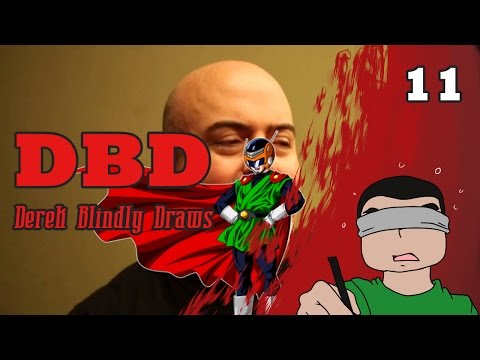 DBD: DEREK BLINDLY DRAWS!!! #11 -- Gret Flamenco Myan (Feat. Cody Johnson)