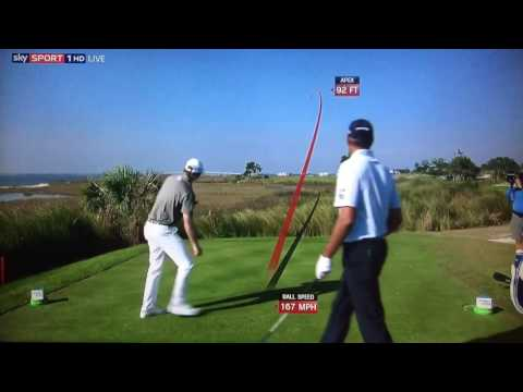 Golf TrackMan Tracer Compilation - The RSM Classic 2016.