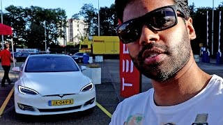 Joining Tesla Crew w/ P90D to Cars and Coffee XXL