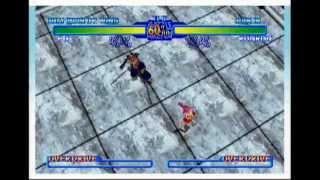 Battle Arena Toshinden URA (Saturn) - Gameplay 1 of 2 (Fo Run)