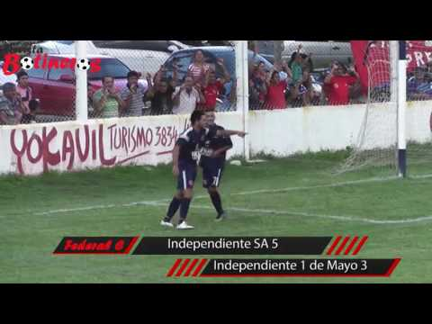 Federal C: Independiente San Antonio 5 vs Independiente 1 de Mayo 3