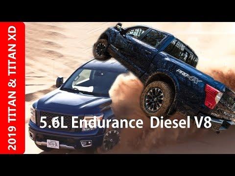 2019 Nissan Titan XD Top V8 Gasoline-Diesel Review