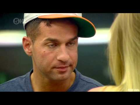 Mike THE SITUATION , Makes a GIRL CRY