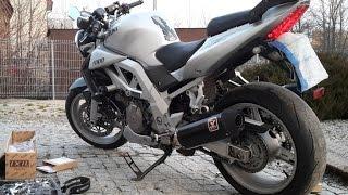 Suzuki SV1000 - IXIL exhaust sound - model XOVS