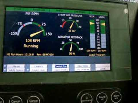 How To Change Over Main Engine From Bridge Control To Engine Control Room