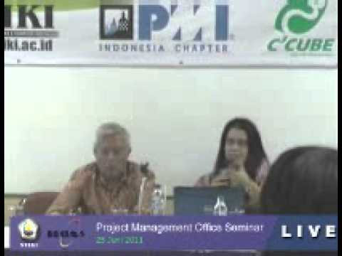 """STIKI """"One Day Seminar Project Management Office"""" by Anna Khodijah,Mebiz,PMP.PMI-SP(0)"""