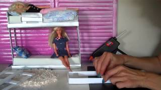 How To Make Doll Bunk Beds Easy - Doll Crafts