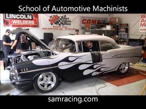 SAM 57 Chevy Bel Air Dyno Pull Class Project