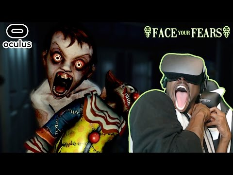 THIS IS WHAT ENORMOUS DISTRESS LOOKS LIKE ▶ Face Your Fears VR Oculus Rift  REACTION