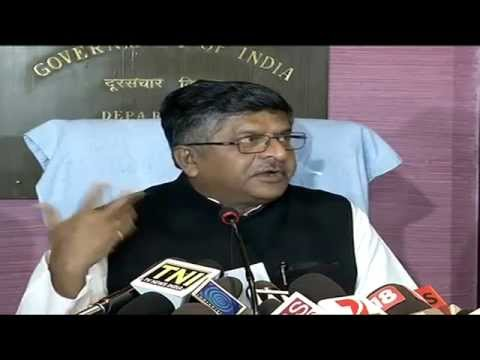 BSNL & MTNL need proper infrastructure support and govt is committed for the same: Shri RS Prasad