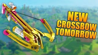 NEW CROSSBOW COMING TOMORROW! - 850+ Wins - Level 100 - Fortnite Battle Royale Gameplay - (PS4 PRO)