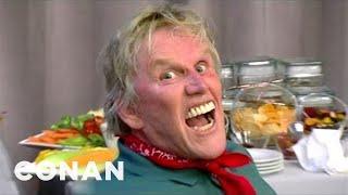 Celebrate Spring With The Crazed Expressions Of Gary Busey - CONAN on TBS