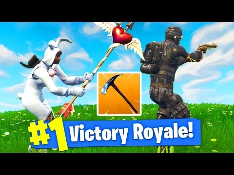 I WON FORTNITE With *NO WEAPONS*!