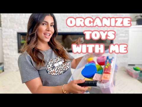 HOW TO ORGANIZE YOUR BABYS TOYS l Adena Gragosian