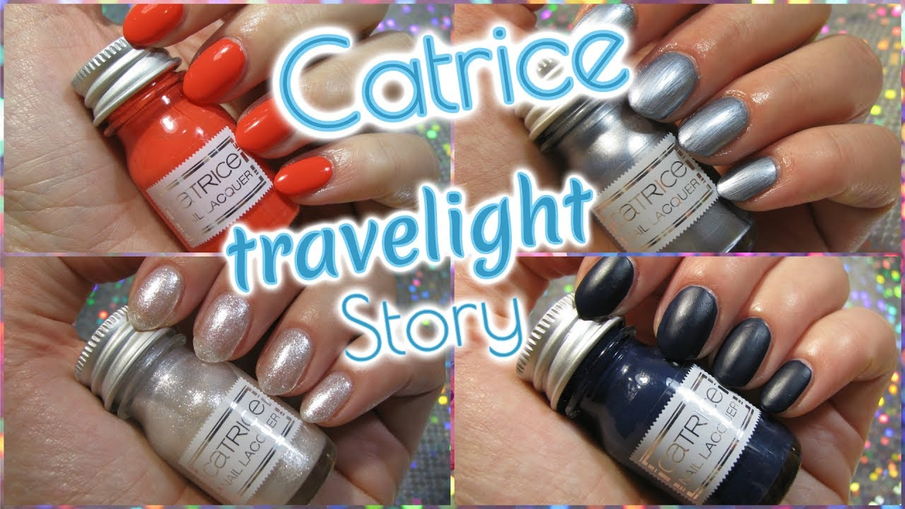 Catrice Travelight Story LE First Impression aller Nagellacke ...