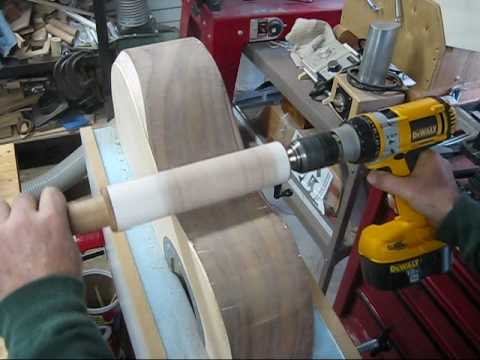 Rolling Pin Side Sander Short Clip Youtube