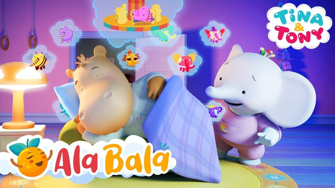 Nu pot să adorm (Ep. 1) - Tina și Tony - Desene animate copii | AlaBala