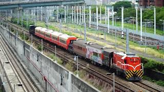 2018.05.21 貨物列車7221次通過(新左營站 - 左營站)