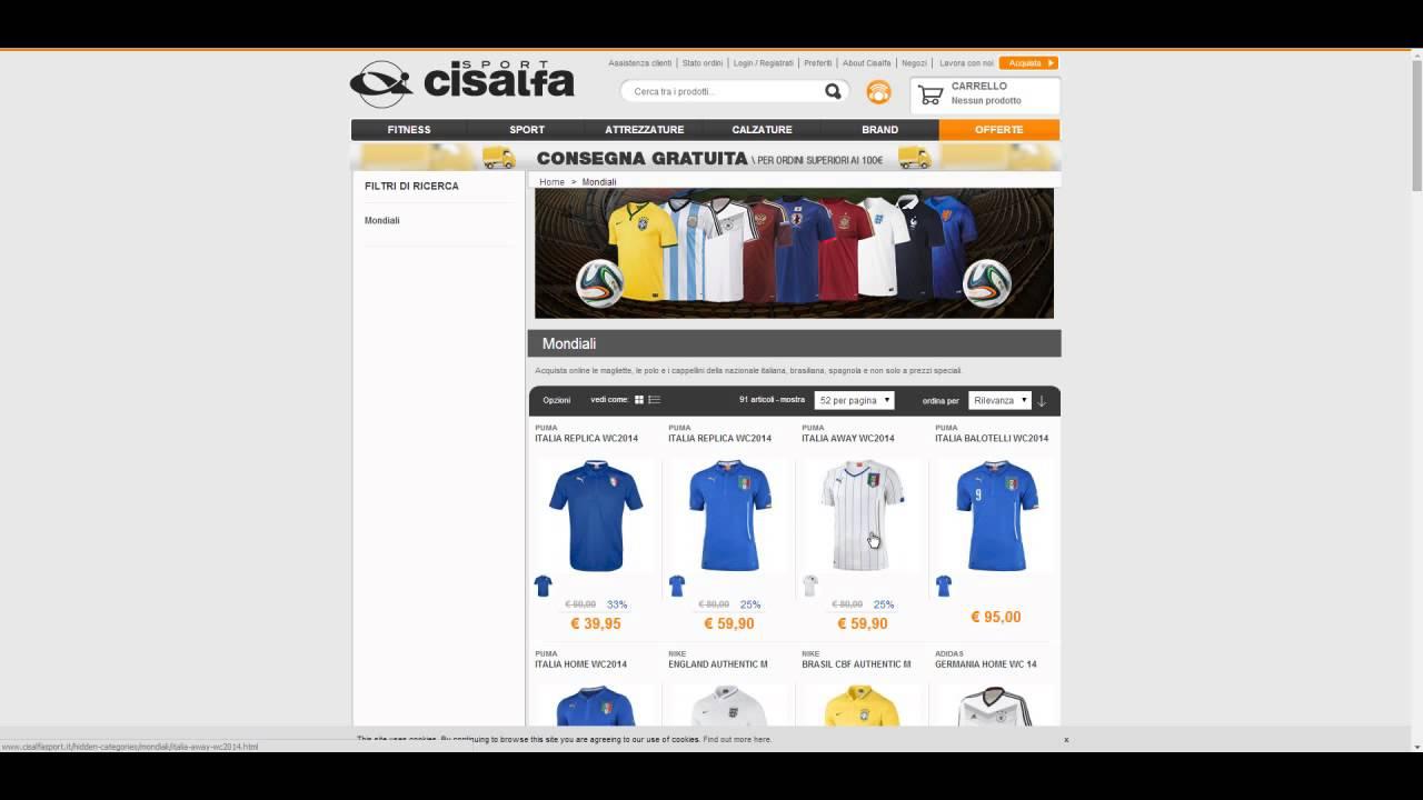 wholesale dealer 2ca07 40660 Offerte Cisalfa Sport - Sconti e offerte articoli sportivi ...