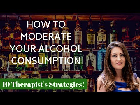 How to drink less alcohol   Mindful Drinking (10 Therapist's Strategies)