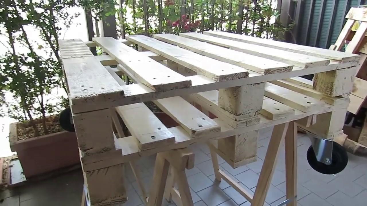Mobili Da Giardino Con Pallet fare un tavolino con i pallet