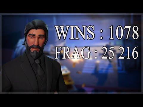 [FR/PC/LIVE] FORTNITE EN SOLO  / Wins : 1078