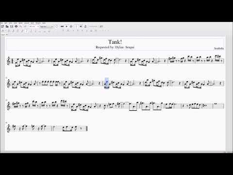 Tank! for Alto/Bari Sax Sheet Music