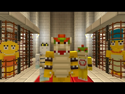 Minecraft Wii U - Super Mario Series - Simpsons Kidnapped By Bowser [173]