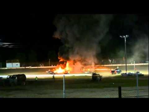 Devin Emod 9-17-11 Cars blazing in fire
