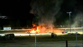 Devin Emod 9-17-11 Cars blazing in fire