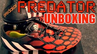 NEW Boots 2014: Adidas Predator Instinct SG Unboxing | Red / White / Black | by 10BRA
