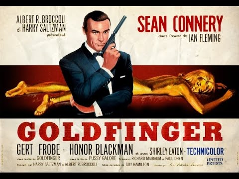 画像: 1964 - James Bond - Goldfinger: title sequence youtu.be