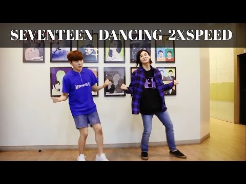 ● Seventeen dancing 2x and 3x speed Compilation ●