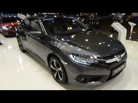 2018 Honda Civic Sedan 1.5 VTEC Turbo Executive - Exterior and Interior – Salon Madrid Auto 2018